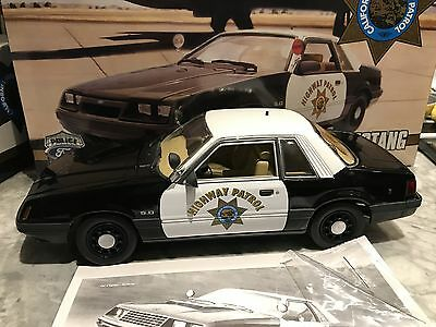 Gokr 1:18 Gmp Ford Mustang California Highway Patrol Spezial Service Nip Toys, Hobbies