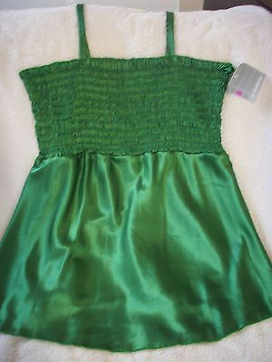 New Green No Boundries Camisole Top size M
