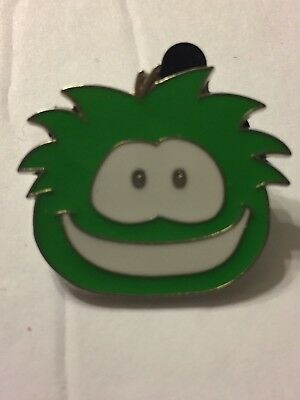 Disney Pin Club Penguin Green Puffle Pet