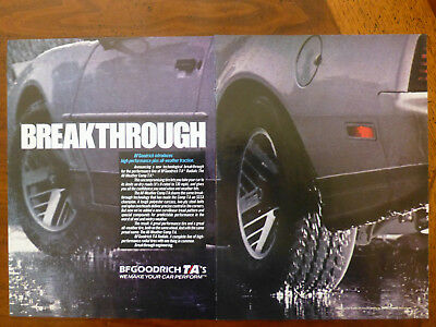 old classic BF GOODRICH Radial T/A tires magazine car ad 1982 1983 1984 trans am