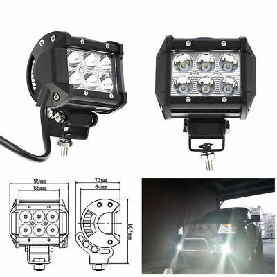 Useful 36W LED Work Light Bar Beam Spot Offroad Driving Fog Lamps SUV ATV 4WD 4""