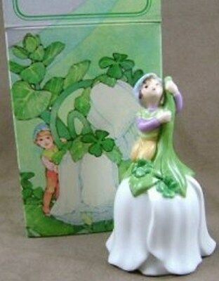 Vintage 1983 Avon Good Luck Bell (Leprechaun) -  New In Box -Free Shipping