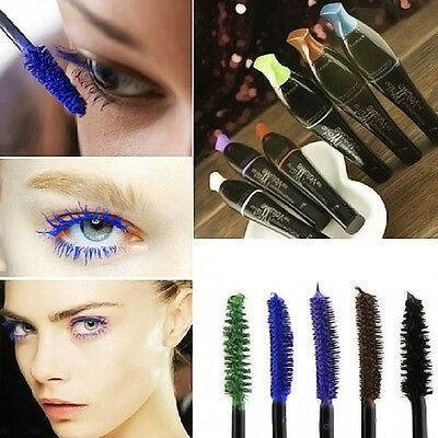 4 Colours Beauty Mascara Eyelash Natural Longlasting Extension Makeup Waterproof