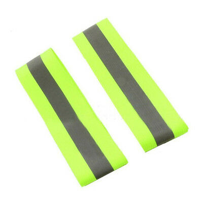 New Reflective Arm Belt Strap Ring For Outdoor Sports Night Running Cycling FR
