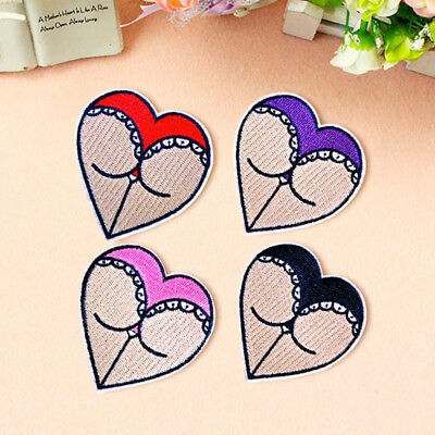 Sexy Lady Embroidered Patch Sew On Iron On Fabric Applique Badge Craft Transfer