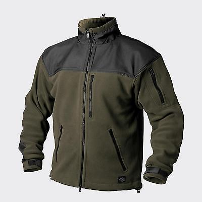 HELIKON TEX CLASSIC ARMY OUTDOOR FLEECE JACKE JACKET Oliv / Black Large