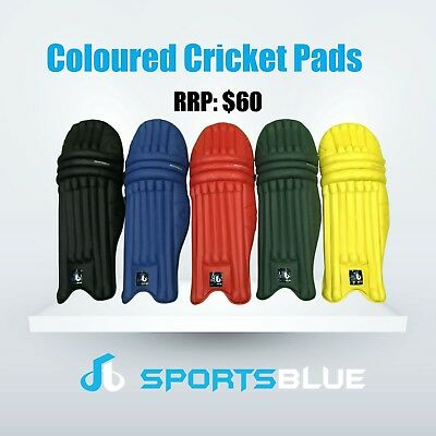 Coloured Cricket Batting Pad (extremely light weight and durable)Premium Quality