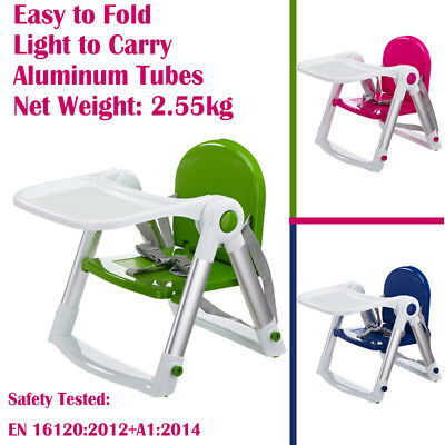 Free Ship Baby Toddler High Chair Highchair Feeding Booster Chair Travel
