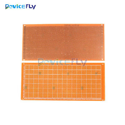 2pcs DIY Prototype Paper Single Side PCB Universal Board 10cm x 22cm 10*22 cm