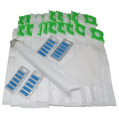 20 DUST BAGS For SEBO Vacuum Hoover FILTERS AIR FRESHENERS SERVICE KIT X1 X4 X5