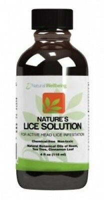 Nature's Lice Solution - 4oz - powerful, natural protection against head lice