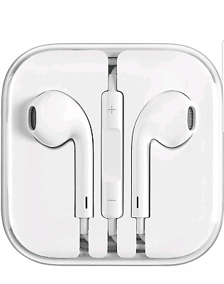 Apple iPhone Headphones IPhone  5, 5S, 5C, SE, 6, 6S Earbuds with mic, remote