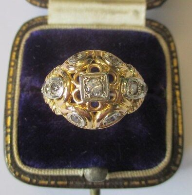 Très belle bague ancienne - Gold ring or 18 carats 4,04g