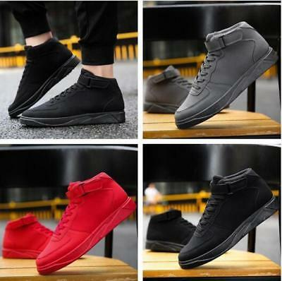 2017 New Men High-help casual shoes outdoor sports shoes students running shoes