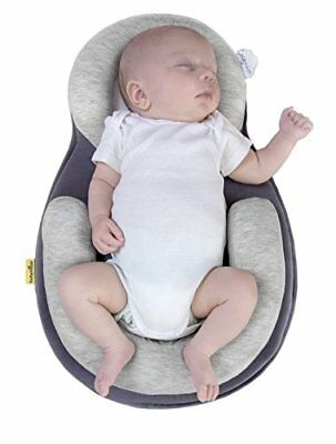 BABYMOOV Cosydream Baby Soft Cozy Sleep Bed Breathable Positioning Roll - Smokey