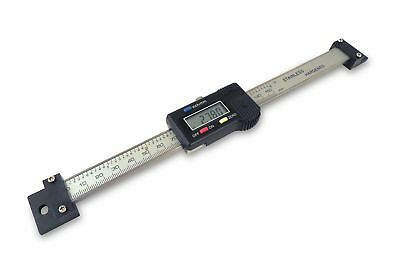 "6 "" 150 mm Digital Readout Read Out DRO Hardened Stainless Steel Beam Resolution"