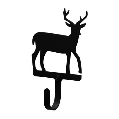 Iron Deer Decorative Wall Hook Small - Heavy Duty Metal Wall Hook, Coat Hook,