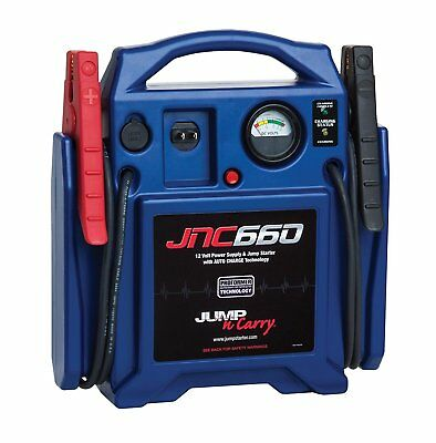 Auto Truck Portable Box Jumper Mighty Power Kit Starter Car Battery Jump Cables