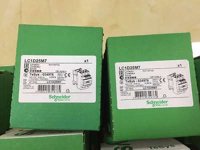 Schneider Electric LC1D25M7 Contactor 220V coil NEW SEALED BOX  MADE IN FRANCE