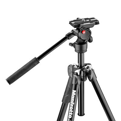 "Manfrotto MK290LTA3-VUS 290 Light 57"" Aluminum Tripod - Black - VG - In Box"
