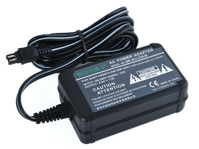 AC Power Supply Adapter Battery Charger For Sony HDR-CX120 HDR-CX130 HDR-CX130E