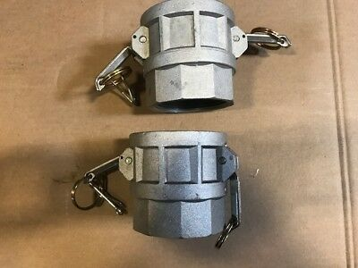 """2-1/2"""" Camlock Fitting D-250 Cam Lock , Cam And Groove, Trash Pump (set of 2)"""