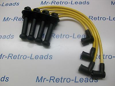 Yellow 8Mm Performance Ignition Leads Focus Zetec Silver Not For The Gen1 Coil