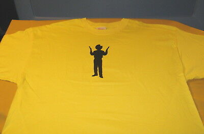 OFFICE MAX Rubberband Man WHAT'S YOUR THING? - Vtg 2004 OfficeMax T-Shirt New XL