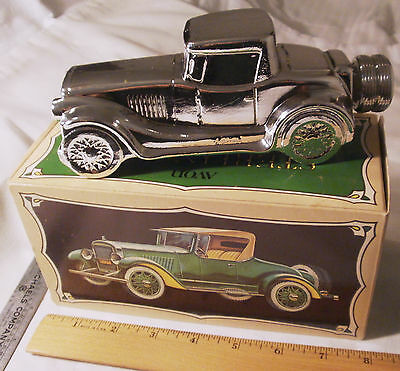 Vintage AVON old car STERLING SIX Tai Winds after shave 1978 FULL – NEAR MINT