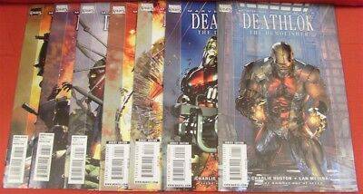 Deathlok Demolisher 1-7 Marvel Knights Comic Set Complete Huston Medina 2010 Nm