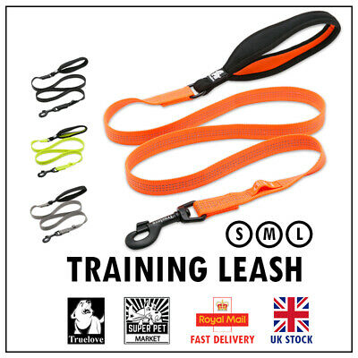 Truelove Strong Durable Dog Leash Lead Soft Handle Reflective Training 4.5ft NEW