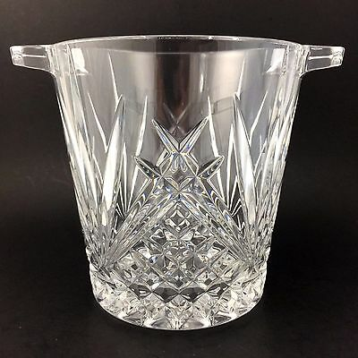 Cristal D'Arques Durand Villemont Champagne Bucket Crystal Ice Clear Glass Lead