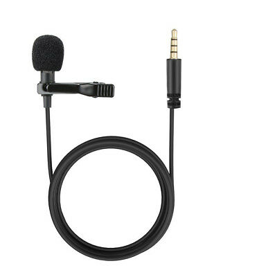 3.5mm Hands Free Computer Clip on Lapel Microphone for Recording Youtube