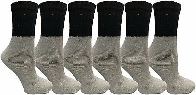6 pair WSD Kids Thermal Socks,Camping Hiking Winter Warm Sock for Boys and Girls