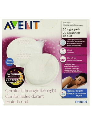 Avent 20-Pack Disposable Night Pads