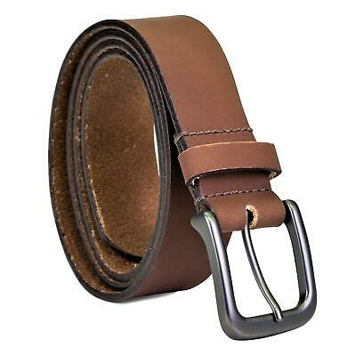 Timberland Men's Classic Jean Leather Belt Brown
