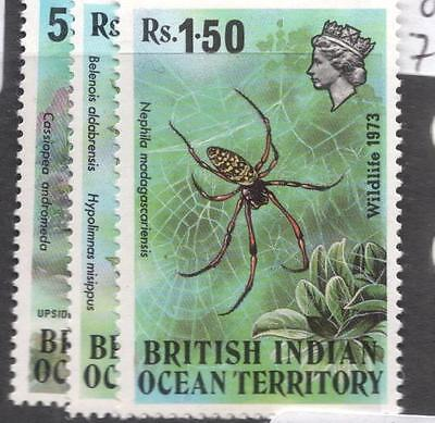 British Indian Ocean Territory SG 54-6 MNH (7dhy)