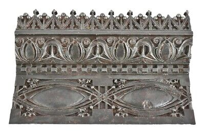Cast Iron Louis H. Sullivan 19Th C. Gage Building Exterior Stringcourse Panel