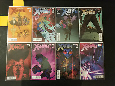 X-Tream X-Men 1 - 13 Full Run Complete Lot of 14 Marvel Comics NEAR MINT