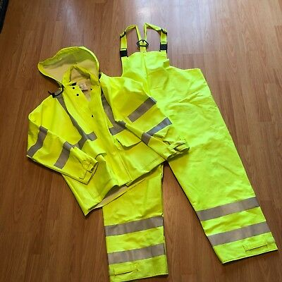 magid rainwear safety jacket and overalls
