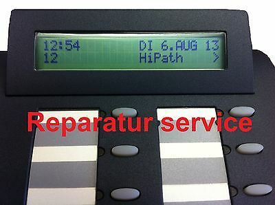 Optipoint 500 Display LCD ref. Reparatur Basic Economy Standard Advance
