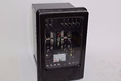 NEW ABB SG Auxiliary Current Relay, 1955565-E 62.5 VDC Case