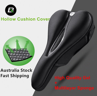 【Payless】ROCKBROS GEL SADDLE COVER Bike Seat Comfort Pad MTB Silicone Cushion