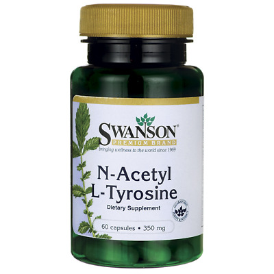2X Swanson N-Acetyl L-Tyrosine *Cognitive function and healthy mental well-being
