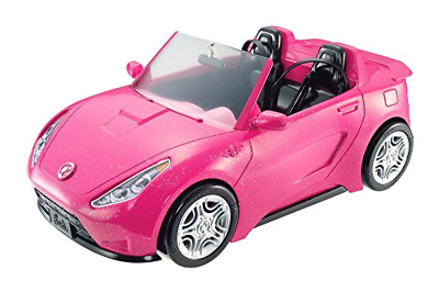 NEW Barbie Glam Convertible Pink Car Doll Mattel Vehicle Hot And Toy Seats