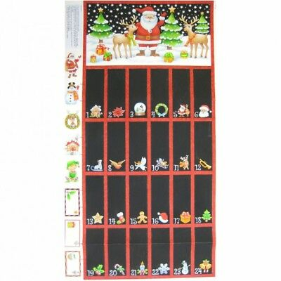 WALL OR QUILT PANELS - ADVENT CALENDER - by NUTEX