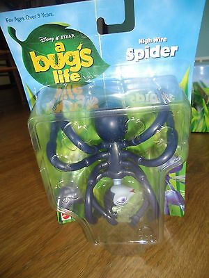 New Disney Pixar A Bug's Bugs Life High Wire Spider Figure Mattel Easter Gift