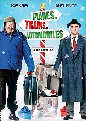 NEW DVD w/SLIPCOVER - PLANES, TRAINS & AUTOMOBILES - Steve Martin, John Candy,