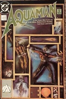 Aquaman #1 (1989) - Part 1 Of A 5 Issue Mini-Series Giffen Fleming