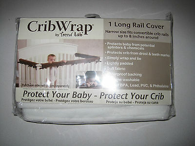 (1) Trend Lab Cribwrap Rail Cover SEE VARIATIONS
